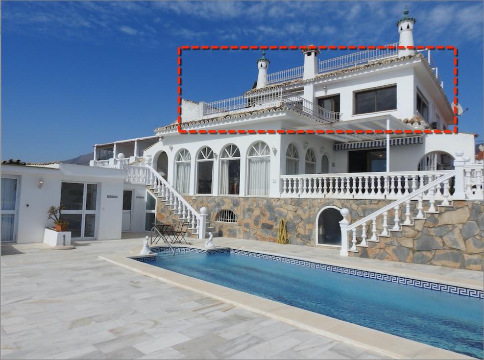 Penthouse 1 8 persons for Villas granada ii